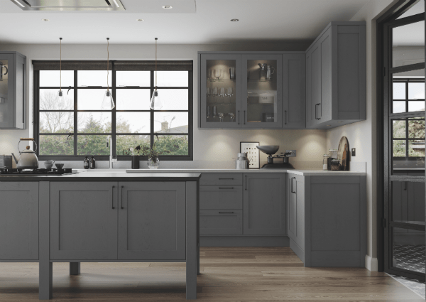 Aldana Dust Grey Kitchen
