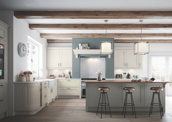 Florence Porcelain and Stone Kitchen