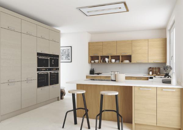 Tavola Light Oak Kitchen