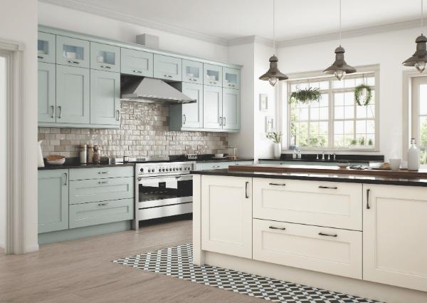 Wakefield Ivory and Powder Blue Kitchen